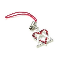 Adoption Symbol Cell Phone Charm