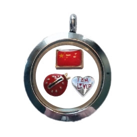 China Loved Floating Locket