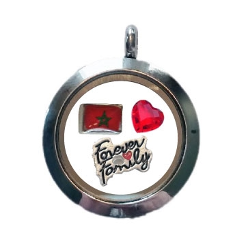 Morocco Family Floating Locket