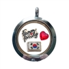 South Korea Family Floating Locket