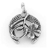 Good Luck Sterling Silver Charm
