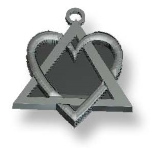 Adoption Symbol Sterling Charm