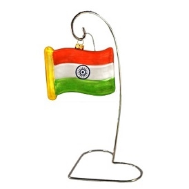 India Flag Table Center Piece