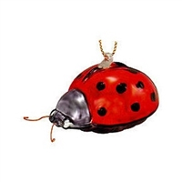 Small Red Ladybug Ornament