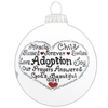 Adoption Swarovski Ornament