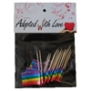 Rainbow Pride Toothpick Flags