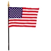 USA Miniature Desk Flag 4inx6in