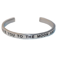 Love You to the Moon Bangle