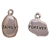 Family Forever Sterling Charms