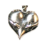 Hugs Charm in Sterling Silver