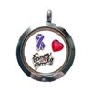 Adoption Awareness Floating Locket