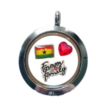 Ghana Family Floating Locket