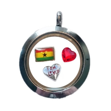 Ghana Loved Floating Locket