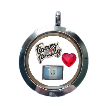 Guatemala Family Floating Locket