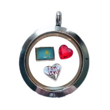 Kazakhstan Loved Floating Locket