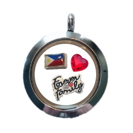 Philippines Family Floating Locket