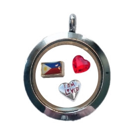 Philippines Loved Floating Locket