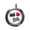 Russia Family Floating Locket