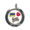 Ukraine Family Floating Locket
