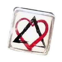 Adoption Symbol Floating Charm