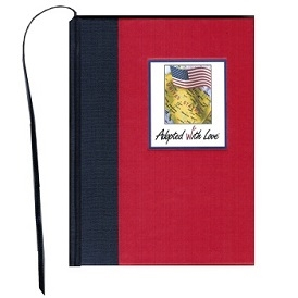 USA Hardcover Adoption Journal