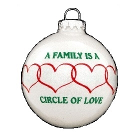 Circle of Love Family Ornament