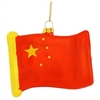 China Flag Replica Glass Ornament