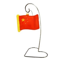 China Flag Table Center Piece